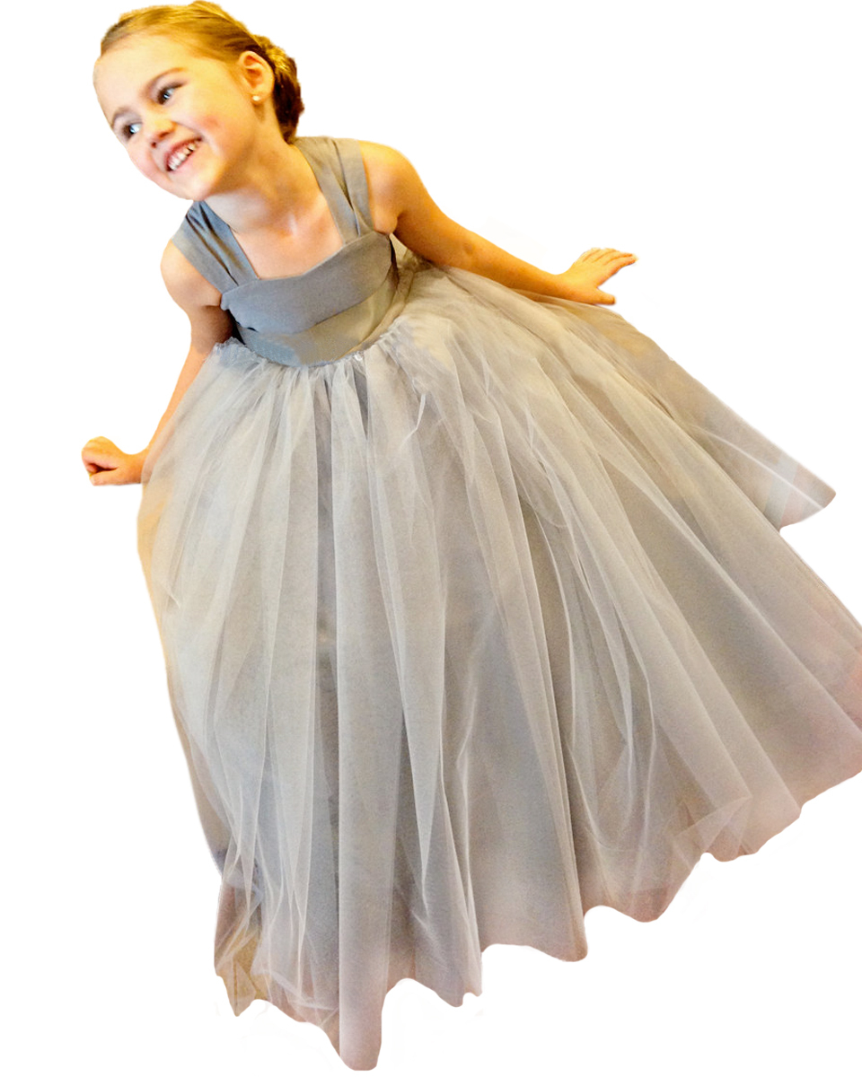Cheap Dark Grey Flower Girl Dress Find Dark Grey Flower Girl Dress