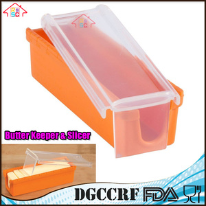 NBRSC Butter Keeper And cheese Slicer Cutter Storage Container, Measure For Bread, Cakes, Cookies