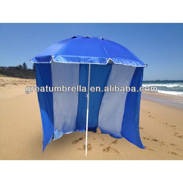 Beach Umbrella With Windscreen Product On Alibaba