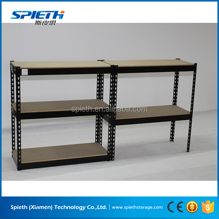 warehouse system boltless rivet 5 tier metal storage shelving units