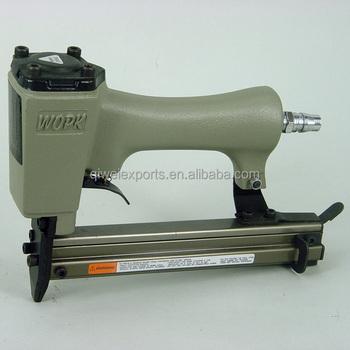 Aluminum Body Air Pneumatic Furniture Staple Gun For Framing