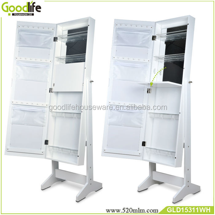 Usa Standing Makeup Mirror New Cabinet With Hot
