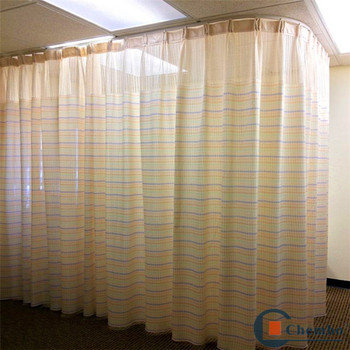 Anti Bacteria NFPA701 Flame Retardant Hospital Cubicle Curtain From China  Factory