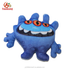 OEM soft stuffed animal plush action figure purple Monsters Dragon doll Game toys with big eyes