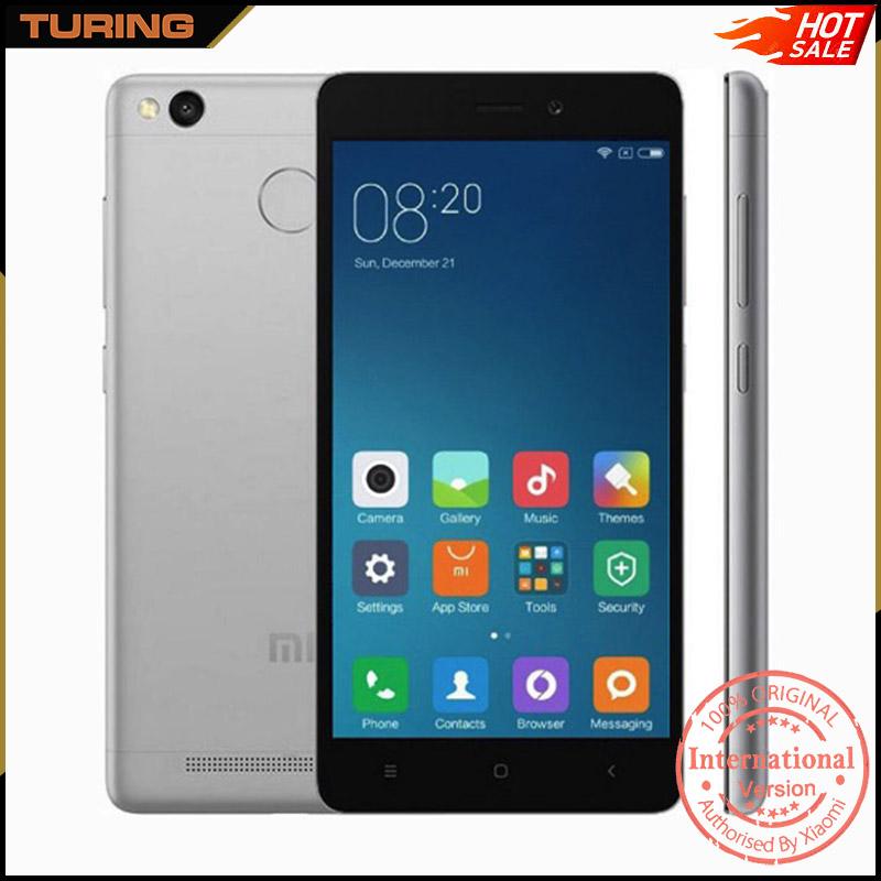 Xiaomi Redmi Red Mi 3s Xiomi 4g Mobile Phone 2gb Ram 16gb Rom Miui ...