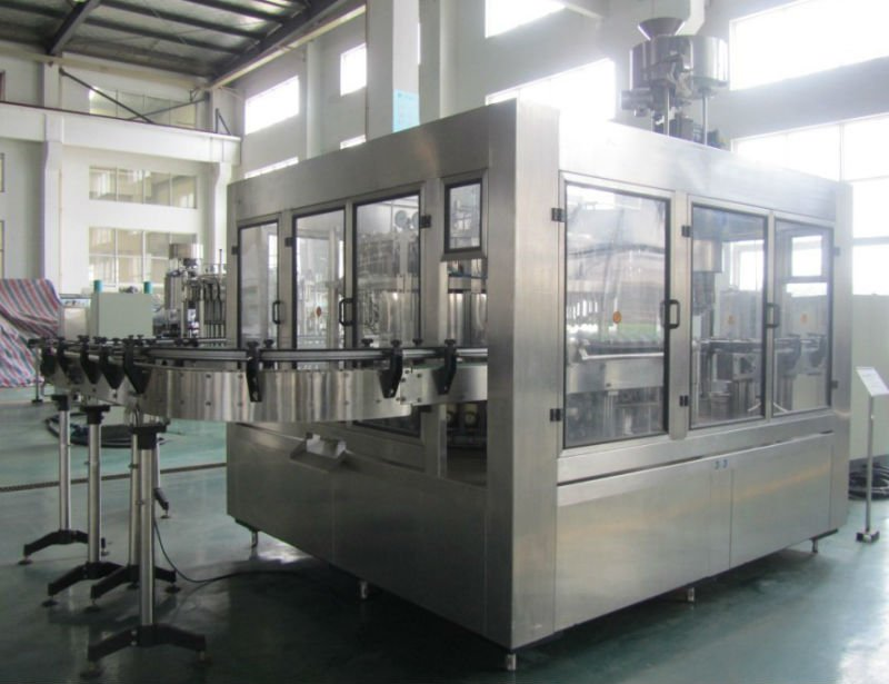 complete automatic PET bottle water drinks production line machinery