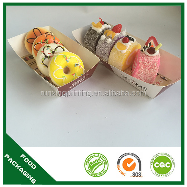 customized takeaway packaging japanese sushi boats