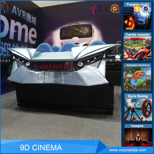 9d Virtual Reality Machine Cinema Seating