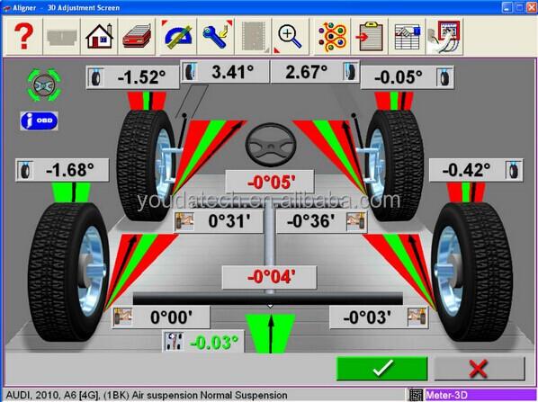 Hot Sale Da 208 4 Wheel Alignment Equipment Buy Wheel