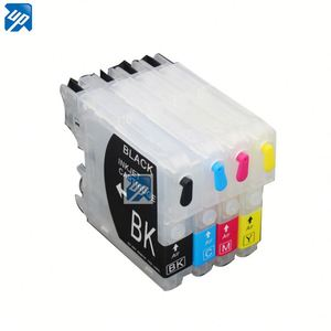 Refillable ink Cartridges for Brother LC39 LC985 LC975 LC980 DCP-J125/J315W/J515W;MFC-J220/J265W/J270W/J410W/J415W