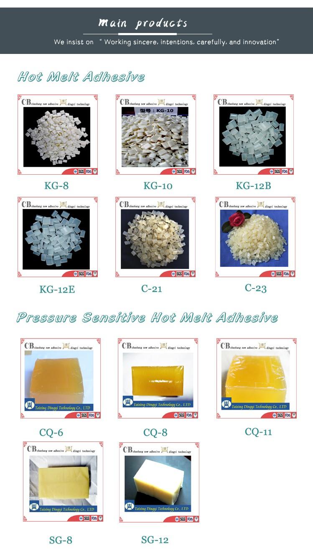 Costo-efectiva sellador blanco lechoso de encuadernación adhesivo de fusión en caliente