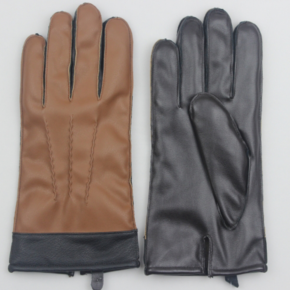2016 Classical Style mens Winter Fashion Gloves,Lambskin driving glover Motorcycle leather glove