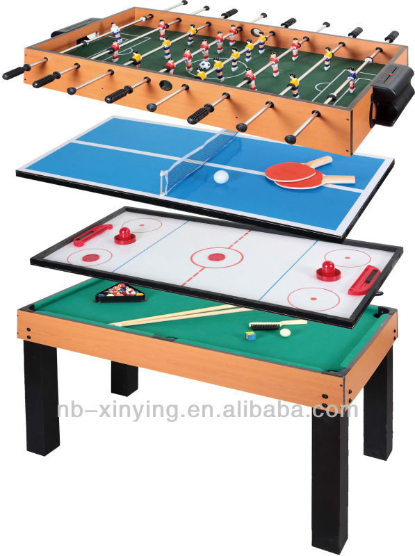 Wooden Mini Air Hockey Table Game For Play - Buy Mini Air Hockey ...