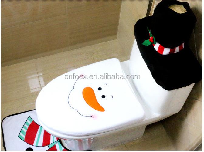 Tremendous 3 Pcs Snowman Christmas Bathroom Set For Home Decoration Christmas Snowman Toilet Seat Cover Rug Tank Cover Tissue Box Cover Buy 3 Pcs Snowman Pabps2019 Chair Design Images Pabps2019Com