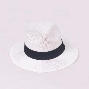 fd2ec091091 Wholesale Custom Wide Brim Panama Hats Summer Straw Hats Paper Straw Beach  Hats for Men and Women