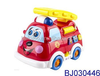 Adorable Mini Fire Truck Toy With Lights And Sirens B O Toy View Fire Truck Toy Beka Product Details From Shantou Chenghai Beka Toys Factory On