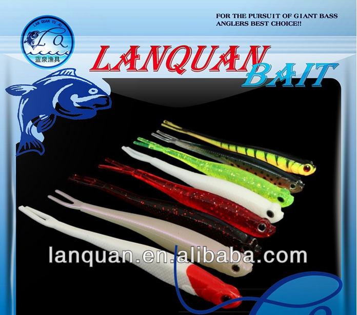 Wholesale LANQUAN high quality soft <strong>fishing</strong> lure-LQSL1319