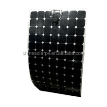 Top SunPower Cells 120w 180w 250w 350w 450w 500w Solar Panel Flexible Solar Panel For Soalr System With TUV CEC Approved