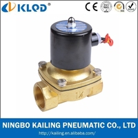 2W160 Series 2Inch 2/2 Way Direct Acting Electronic Flow Control Solenoid Water Valve