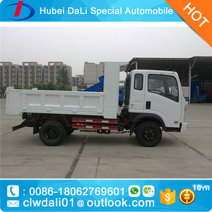 SINO HOWO 3Tons mini dumper truck mini tipper truck for sand carring