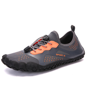 Beach Snorkeling Sneakers Mens Aqua Five Toe Finger Water Running Shoes