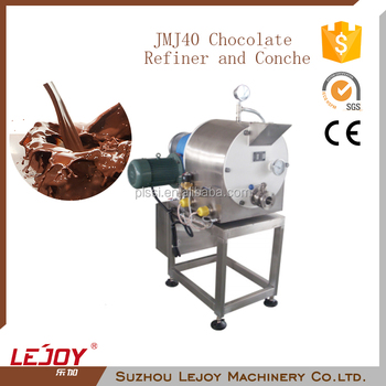 Fully Automatic High Output Chocolate Grinder for Small Business