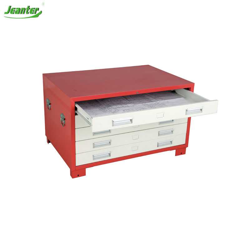 A0 Paper Map Cabinet KAIGE-DG Plan Drawing Filing Cabinet A0 Paper A1 Size Drawings Filing Metal Cabinets