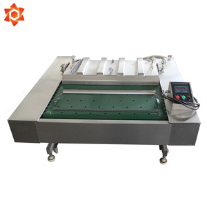 Vacuum tray sealing packing with cutter machine for powder shrink wrap vaccum sealing