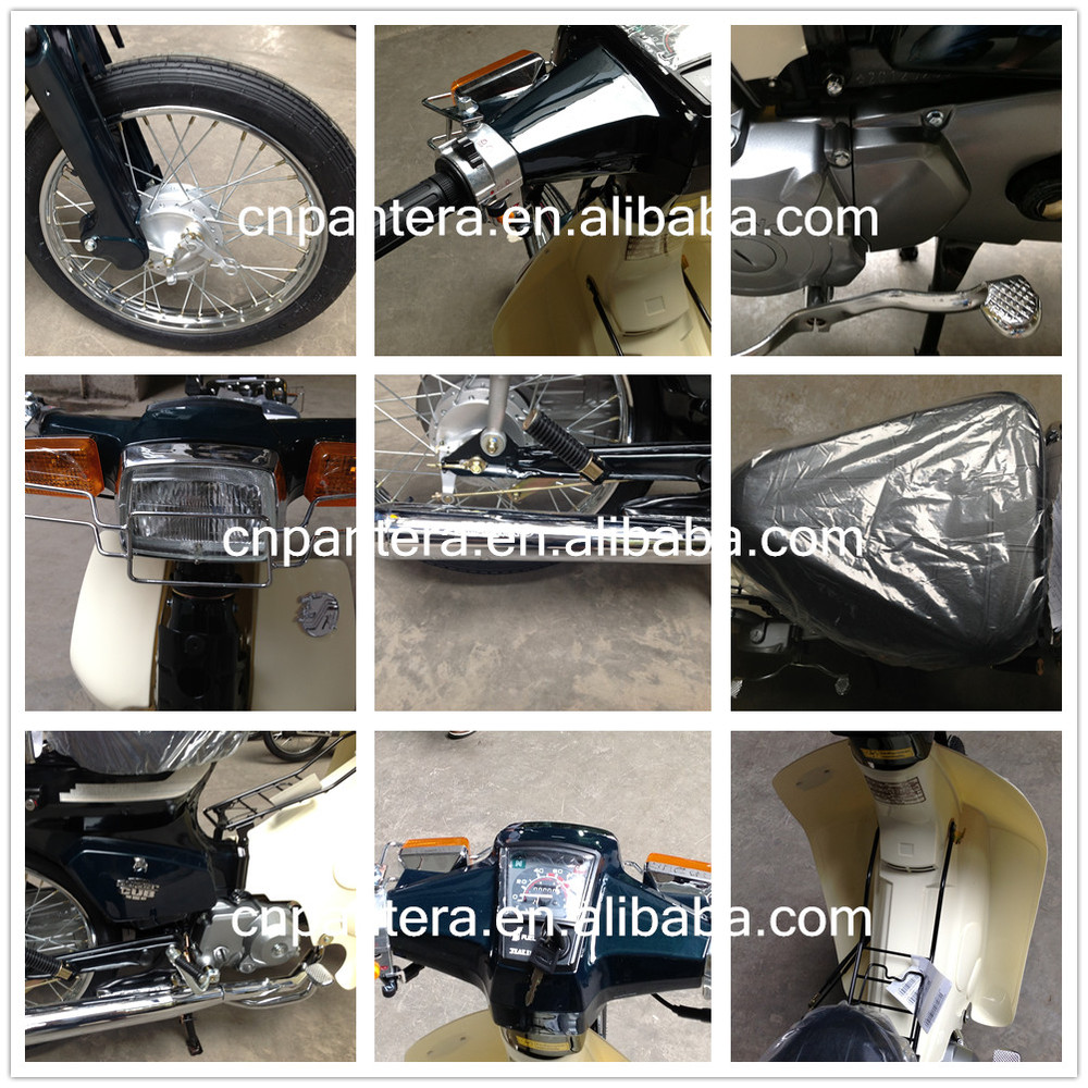 Myanmar Market New 70cc 4 Stroke FR80 Chinese Motorcycle