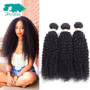 Unprocessed Good Price Remy Indian Remy Kinky Curly Hair Vendor