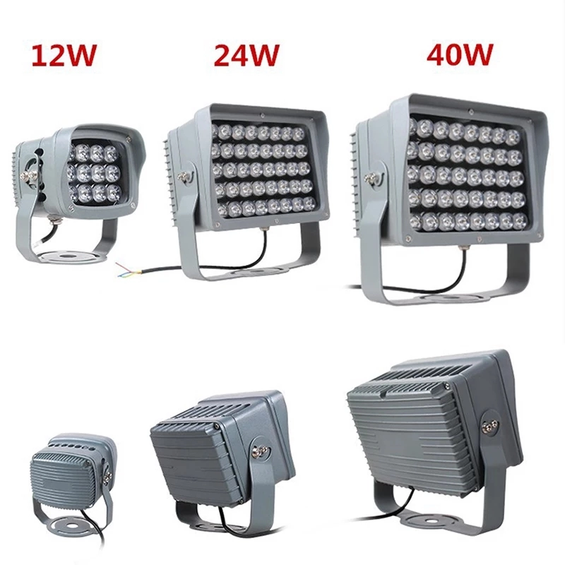 Aluminum Lamp Body Material high lumen rotatable led flood light 9w 12w 24w 40w