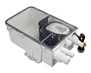 Multi-port Inlet 12v Amarine-made Boat Marine Shower Sump Pump Drain Kit System Shower Pump System 750 GPH