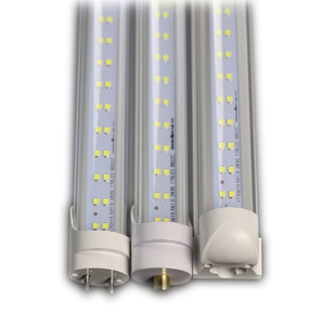 flexible led light tube 8ft led tube light fixture ul 60w 8 ft t8 led fluorescent tube replacement