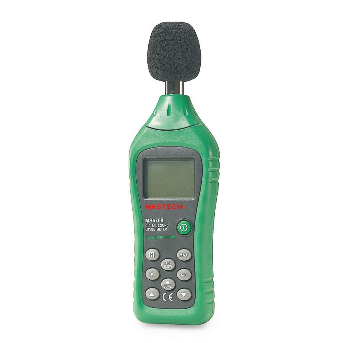 MASTECH MS6708 Digital Sound Level Meter Tester Anti-interference Power Saving Back Light
