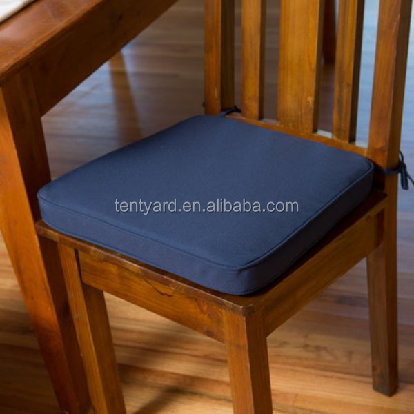 Dining Room Chair Wood Pad Cushion Seat Hard