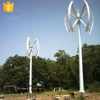 Hot selling for home solar electricity generating system 500w generator price spiral wind turbine with high quality