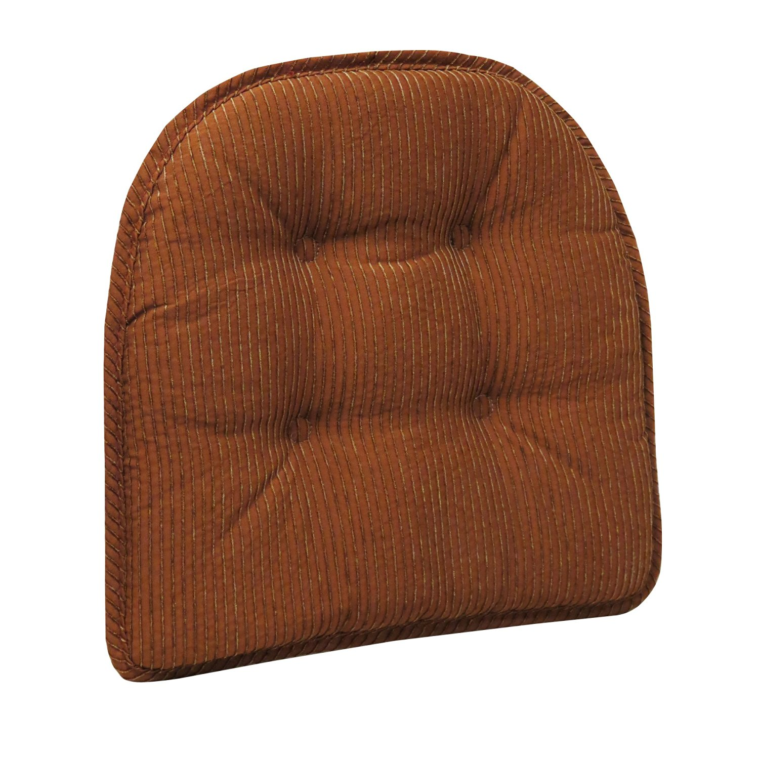 Get Quotations · The Gripper Garrison Chair Pads, Cinnamon