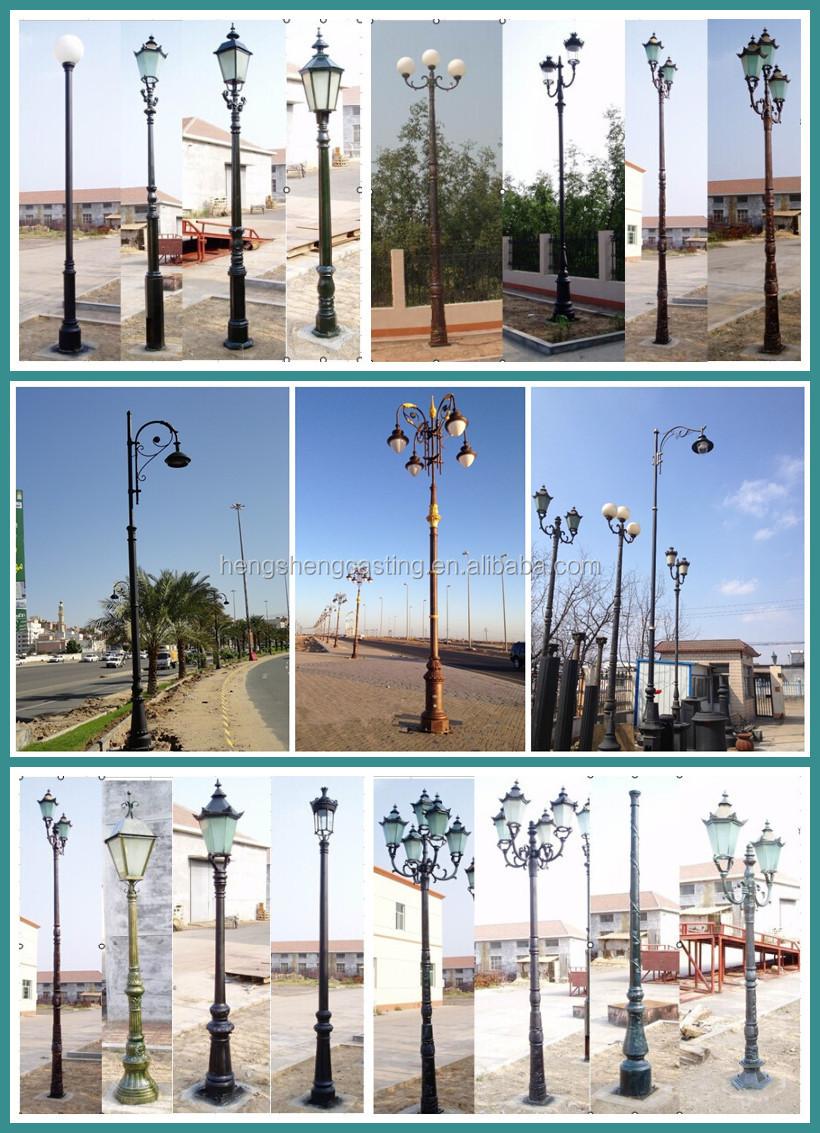 Decorative Light Poles saudi arabia decorative cast aluminum outdoor light poles - buy