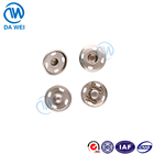 DW brand Factory custom made colorful metal material brass snap button fastener