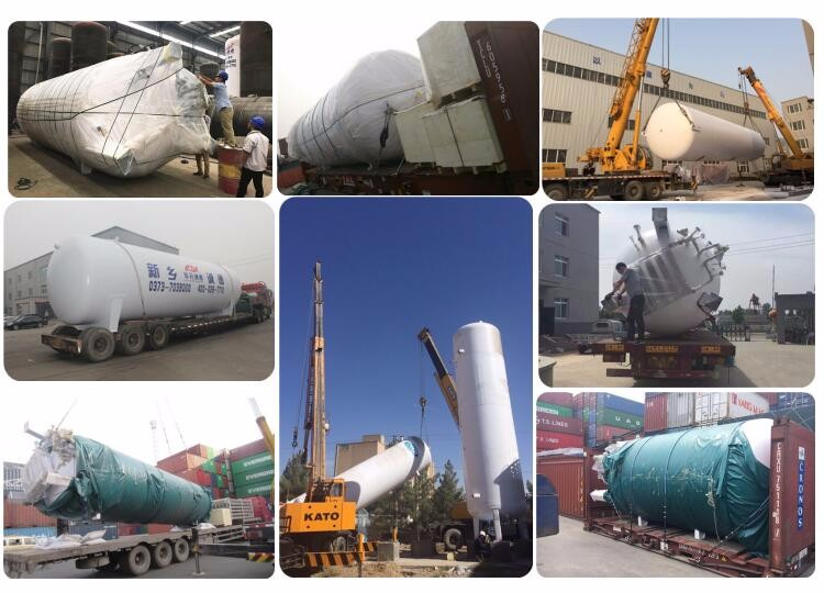 factory price liquid carbon dioxide storage tank for sale