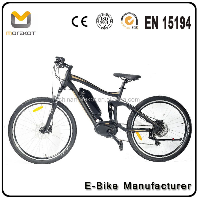MSS9 For Man EN15194 Approved Carbon Steel Downhill Full Suspension <strong>Bike</strong> 8Fun Max Mid Drive Motor Mountain <strong>Bike</strong>