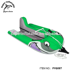 Children Inflatable Towable Water Jet Ski and Wakeboard Trainer for kids