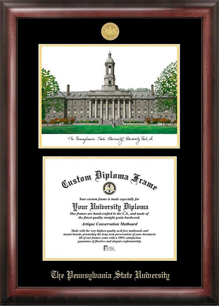 Buy Penn State Nittany Lions Framed Scholar Diploma Frame with ...