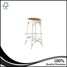CDW16116 Solid Wooden Furniture Bentwood Bar Stools Wholesale Birch Wood Bar Stool