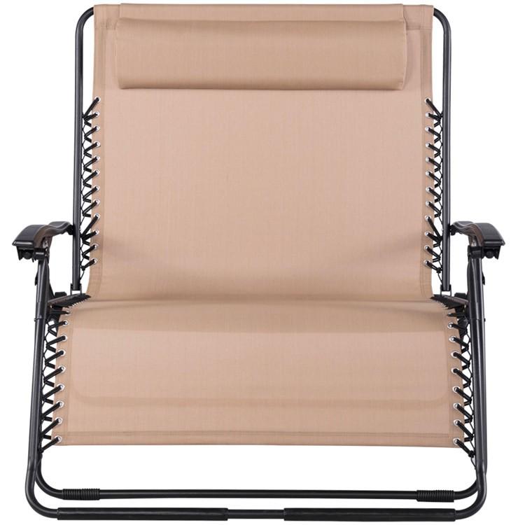 Outdoor Loveseat Double Zero Gravity Lounge Chair - Buy ...