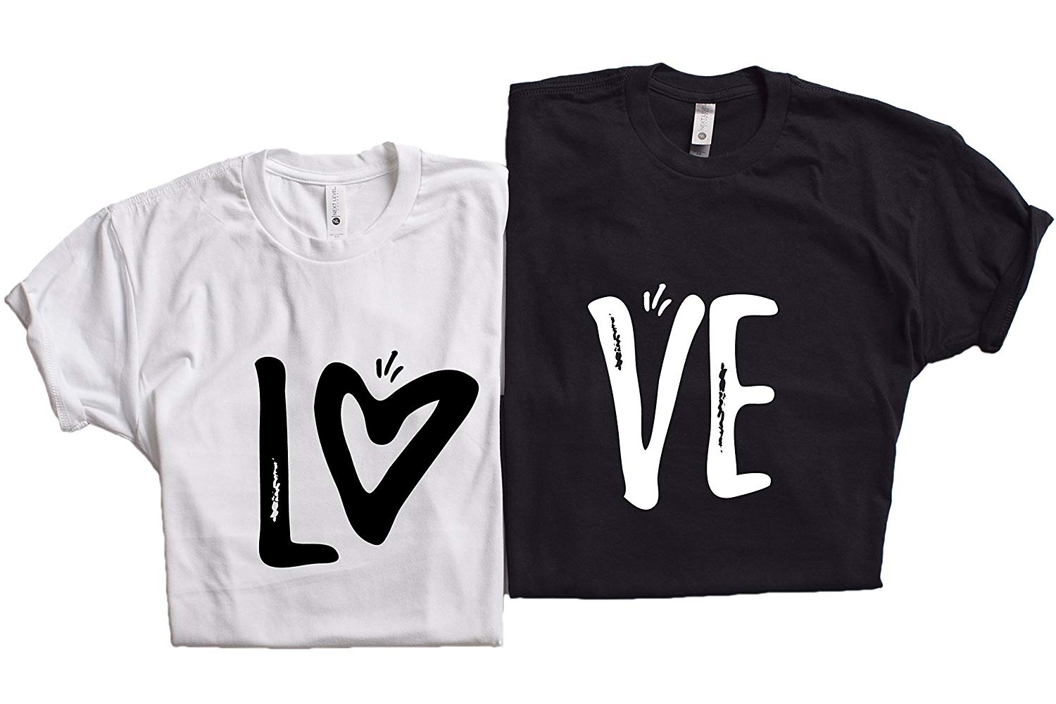 9c10baea71 Get Quotations · LOVE MATCHING COUPLE T-SHIRT- HONEYMOON SHIRT-LOVE SHIRT  FOR COUPLES-CUTE