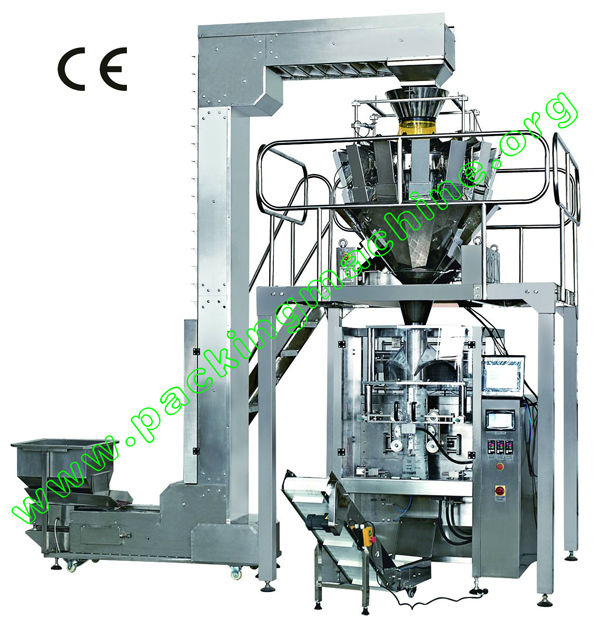 chocolate packing machine with electronic scale weighing system