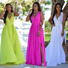 Sexy Halter Sleeveless Long Dress Formal Multi Way Wrap Convertible Infinity Maxi Dress Light Pink Party Wear Dress Women