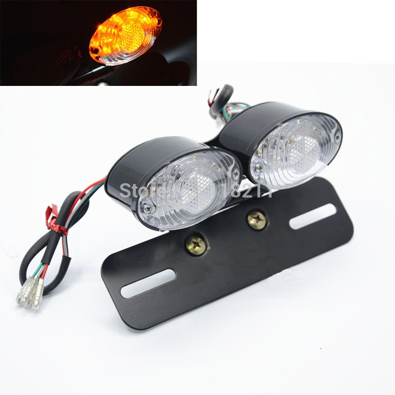 Led Lamp Motos Motorcycle Headlight Carbon Fiber Led Blinker Motorcycle Turn Signals Indicator Flash Light For All Motorbike