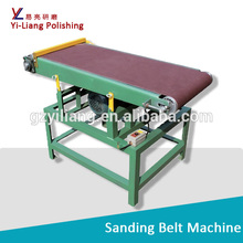 Flat and camber surface grinding and polishing sanding machine for wood